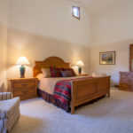 Chaparral master bedroom – main floor
